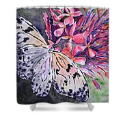 Butterfly Enchantment Shower Curtain