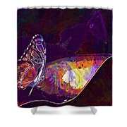 Butterfly Wings Insect Nature  Shower Curtain