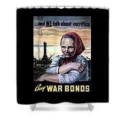 Buy War Bonds Shower Curtain