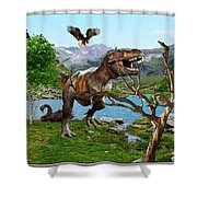 By The Lake 6 Shower Curtain