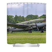 C-46 Commando Tinker Belle Shower Curtain