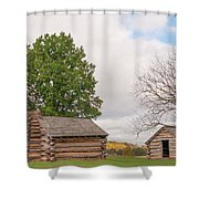 Cabin Shower Curtain