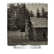 Cabin On The Blue Ridge Parkway - 15 Shower Curtain