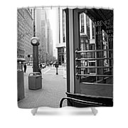 Cable Car Downtown San Francisco Shower Curtain