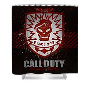 Call Of Duty Black Ops Shower Curtain