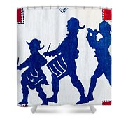 Call To Arms Shower Curtain