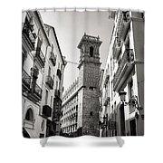 Calle Serranos In Valencia Shower Curtain