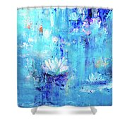 Calm In The Storm Shower Curtain