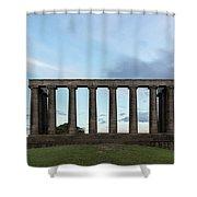 Calton Hill - Edinburgh Shower Curtain