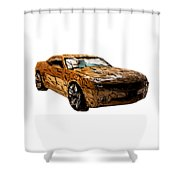 Camaro Shower Curtain