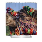 Camel Shower Curtain