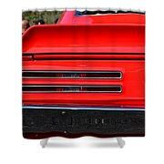 Firebird Tail Light Shower Curtain