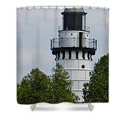 Cana Island Lighthouse Shower Curtain