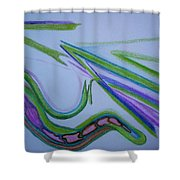 Canal Shower Curtain