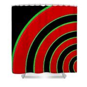 Candid Color 1 Shower Curtain