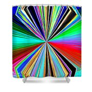 Candid Color 8 Shower Curtain