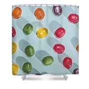 Candy Scattered Shower Curtain
