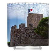 Cannes, French Riviera Shower Curtain