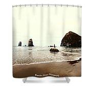 Canon Beach Shower Curtain