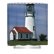 Cape Blanco Lighthouse Shower Curtain