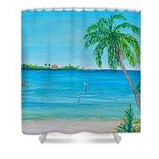 Cape Coral Beach Shower Curtain