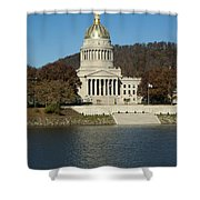 Capital Of West Virginia In Charleston Shower Curtain