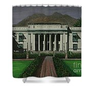 Capitol Building Negros Oriental Shower Curtain