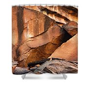 Capitol Reef 9740 Shower Curtain
