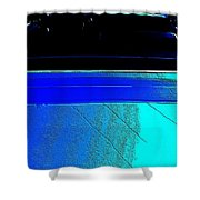 Car Reflection Bump Map 5 Shower Curtain