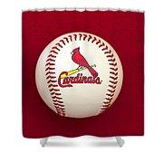 Cardinals Shower Curtain
