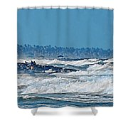 Caribbean Sea Shower Curtain
