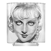 Carole Lombard Shower Curtain