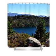 Cascade Lake Shower Curtain