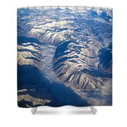 Cascade Mountains Shower Curtain