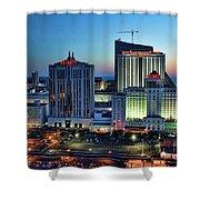 Casinos Atlantic City  Shower Curtain