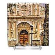 Catedral Antigua Guatemala - Guatemala Vii Shower Curtain