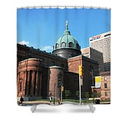Cathedral Basilica Of Saints Peter And Paul Philadelphia Shower Curtain