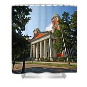 Cathedral Basilica Of The Immaculate Conception Shower Curtain