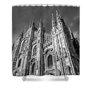 Cathedral Of Milan Shower Curtain