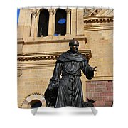 Catholic Cathedral Sante Fe Nm Shower Curtain
