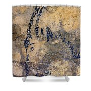 Cave Art: Ibex Shower Curtain