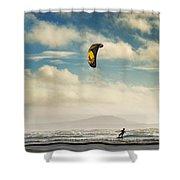 Cefn Sidan Beach 1 Shower Curtain