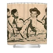 Celebrity Etchings - One Direction   Shower Curtain