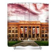 Central High School - Pueblo Colorado Shower Curtain
