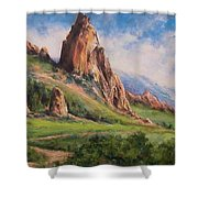 Central Oregon Shower Curtain
