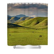 Central Valley California Shower Curtain