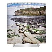 Chalk Cliff Shower Curtain