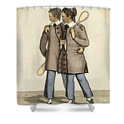 Chang And Eng, Siamese Twins Shower Curtain