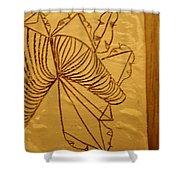 Changes - Tile Shower Curtain