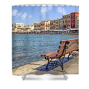 Chania - Crete Shower Curtain